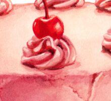 Cherry Cake Pattern Sticker
