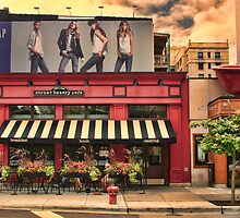Outside Cafe by Dennis Granzow