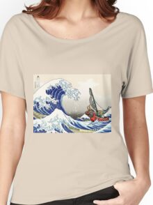 Legend of Zelda Great Wave Windwaker Women's Relaxed Fit T-Shirt