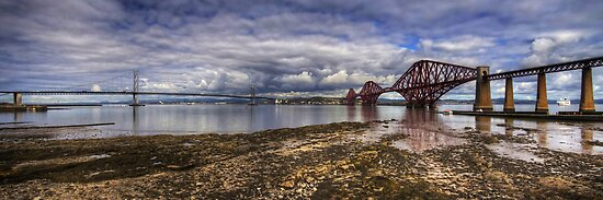 The Bridges Panorama by Tom Gomez