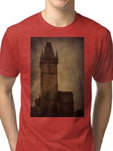 Mysterious Tower  Tri-blend T-Shirt
