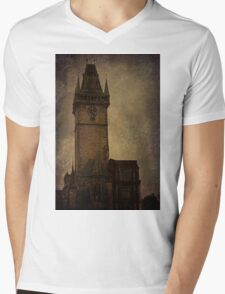 Mysterious Tower  Mens V-Neck T-Shirt