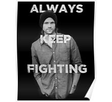 Keep Fighting Poster