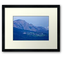 Mountain village Framed Print