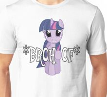 Twilight Sparkle *BROHOOF* Unisex T-Shirt