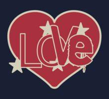 Love Heart One Piece - Long Sleeve