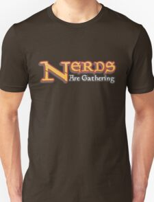 Nerds Are Gathering - Magic The Gathering MTG Spoof T-Shirt