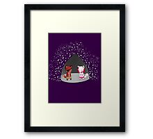 Everyone's favourite foxes Framed Print