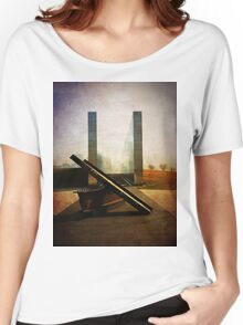 9-11 Memorial - We will never Forget Women's Relaxed Fit T-Shirt