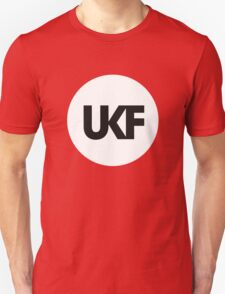 UKF-White and Black T-Shirt