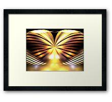 Sunrise Wings Framed Print