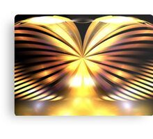 Sunrise Wings Metal Print