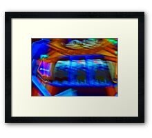 Video games abstract Framed Print