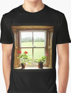 Still Life with Geraniums Graphic T-Shirt