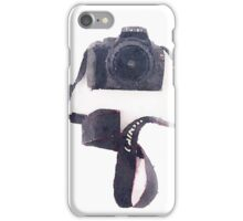 Camera in Watercolor | Trendy/Tumblr/Hipster Meme iPhone Case/Skin