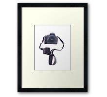 Camera in Watercolor | Trendy/Tumblr/Hipster Meme Framed Print