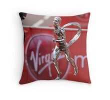 The Virgin London Marathon Trophy 2012 Throw Pillow