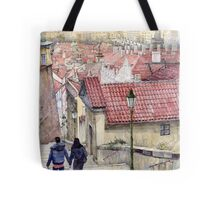 Prague Zamecky Schody Castle Steps Tote Bag