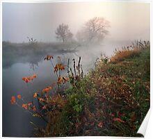 Magic autumn morning Poster