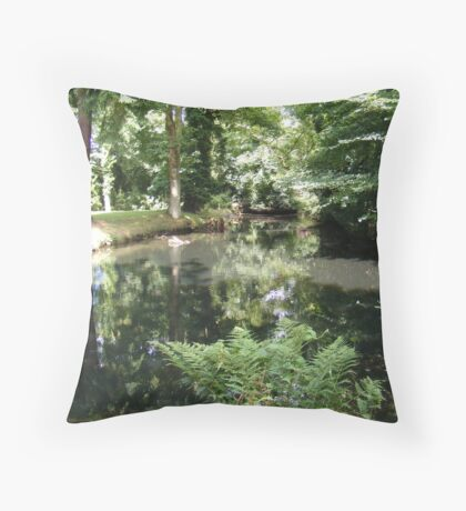 All Upright Again Throw Pillow