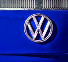 VW BLUE Sticker
