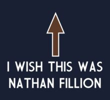 I Wish This Was Nathan Fillion Kids Tee