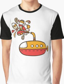 submarine Graphic T-Shirt