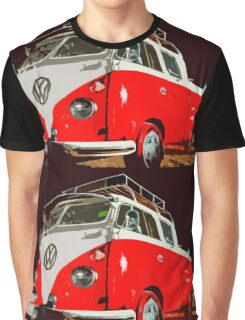 Volkswagen minivan illustration Graphic T-Shirt