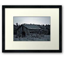 Big Old Barn Framed Print