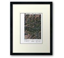 USGS Topo Map Washington State WA Loup Loup Summit 20110429 TM Framed Print
