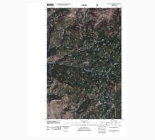 USGS Topo Map Washington State WA Loup Loup Summit 20110429 TM One Piece - Long Sleeve