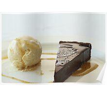 Chocolate tart Poster