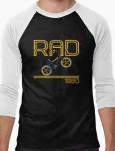 Retro 80's BMX Bike Men's T-shirt  Men's Baseball ¾ T-Shirt