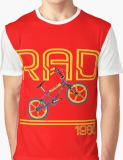 Retro 80's BMX Bike Men's T-shirt  Graphic T-Shirt