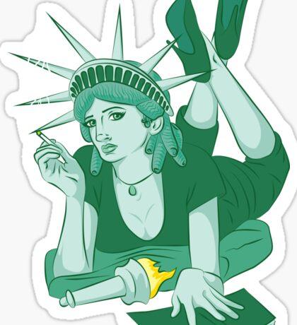 Pulp Liberty Sticker