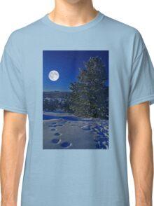 Moonlight night Classic T-Shirt
