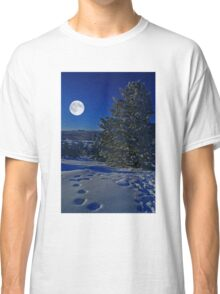 Moonlight night Classic T-Shirt