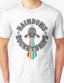 Rainbows Rocketships T-Shirt