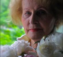 My Mother with Peony Flowers. by Andre Brown Sugar. featured in Beautiful and Lips.. Views: 67 Thx! by © Andrzej Goszcz,M.D. Ph.D