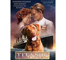 Chesapeake Bay Retriever Art - Titanic Movie Poster Photographic Print