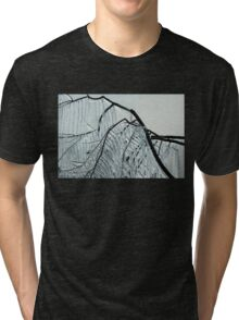 Intricate Ice Curtains Tri-blend T-Shirt