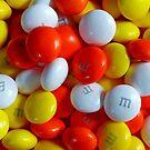 Candy Corn M&M's by Susan S. Kline