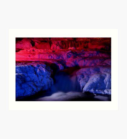 Almonte waterfalls Art Print