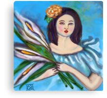 LILLY OF THE FIELD Canvas Print