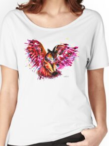 Flying Owl Women's Relaxed Fit T-Shirt