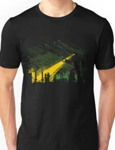 Robot Marching on the Factory Unisex T-Shirt