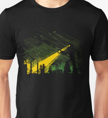 Robot Marching on the Factory T-Shirt