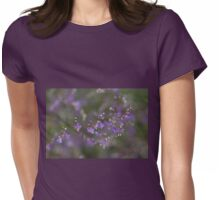 Lavender Mist Womens Fitted T-Shirt