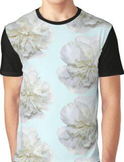Single White Carnation - Hipster/Pretty/Trendy Flowers Graphic T-Shirt