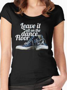Dance Floor Women's Fitted Scoop T-Shirt